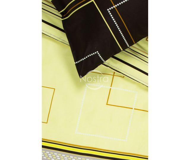 satino patalyne geltonos spalvos