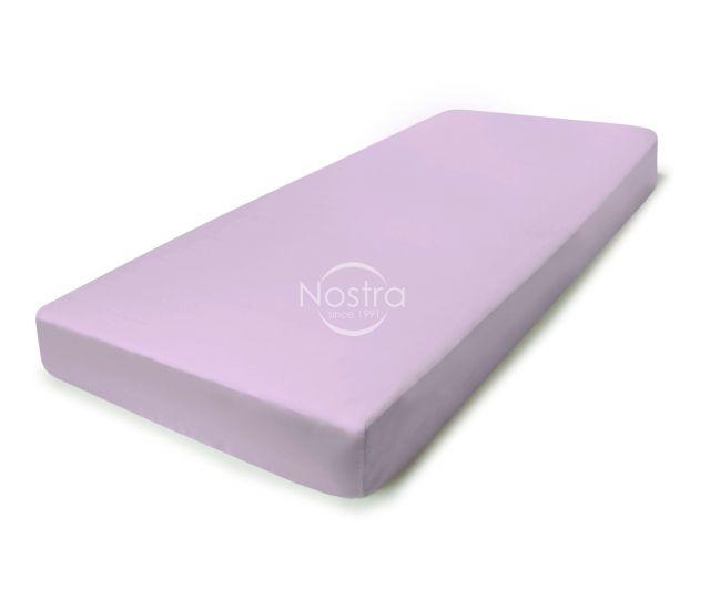 Satino paklodės su guma 00-0033-LILAC 180x200 cm