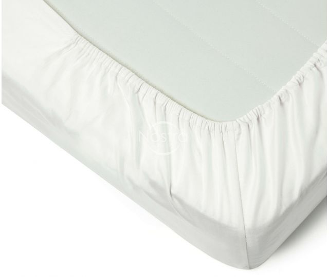 Fitted sateen sheets