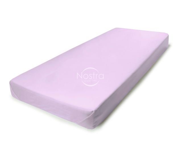 Атласная простыня без резинки 00-0033-LILAC
