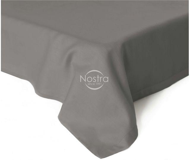 Flat sateen sheets 00-0326-STONE GREY