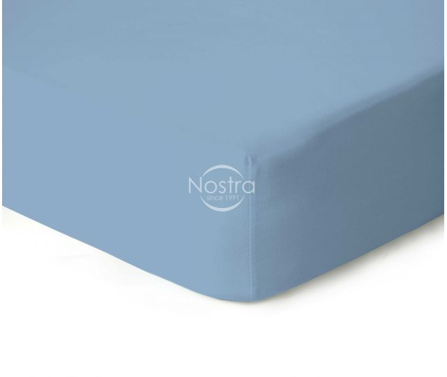 Trikotažinės paklodės su guma JERSEYBTL-LIGHT BLUE