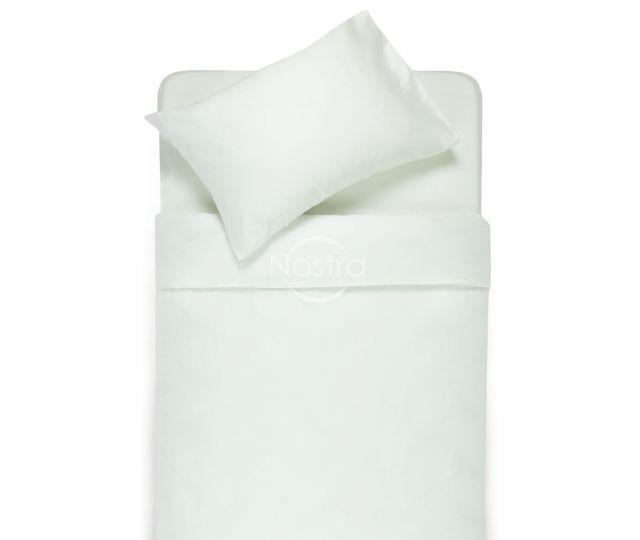 satino patalyne baltos spalvos