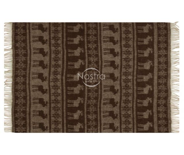 Pledas ZELANDIA 80-3107-BROWN 130x190 cm