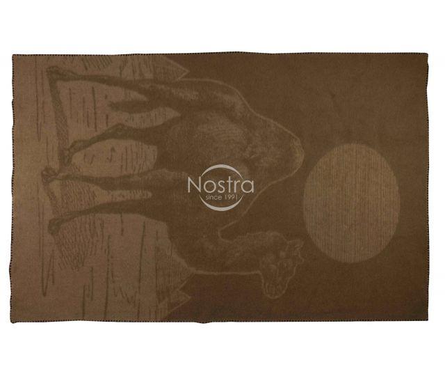Kupranugario vilnos antklodė, pledas CAMEL-620