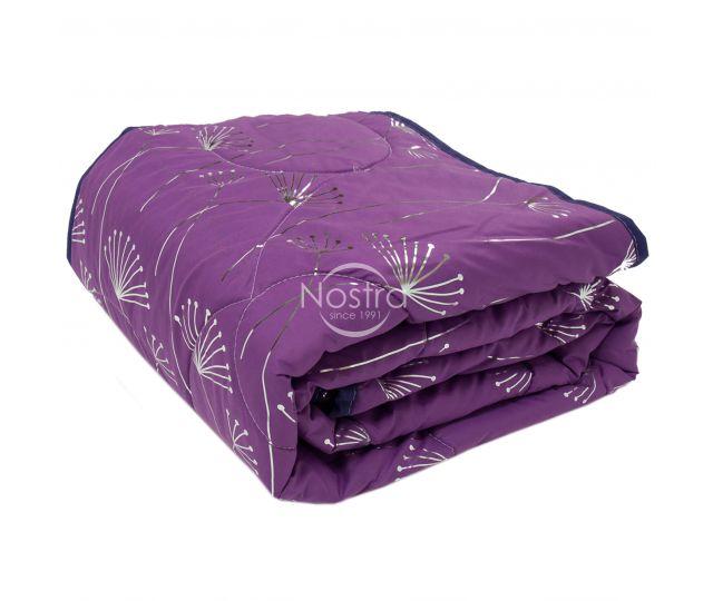 Marginta lovatiesė, lovos užtiesalas METALIC 70-0017-VIOLET/SILVER