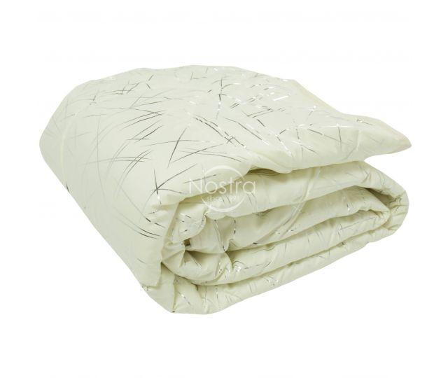 Marginta lovatiesė, lovos užtiesalas METALIC 70-0018-PAPYRUS/SILVER