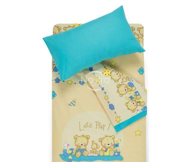 Vaikiška patalynė BEARS 10-0215/00-0358-BEIGE/BLUE ATOL