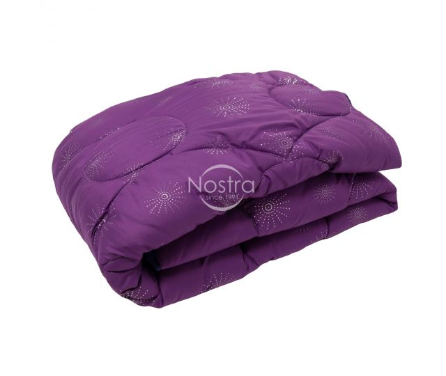 Antklodė, lovos užtiesalas METALIC 70-0020-VIOLET/SILVER