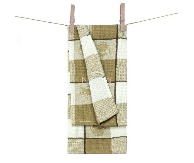 Virtuvinis rankšluostis WAFEL-240 T0103-L.BROWN 50x70 cm