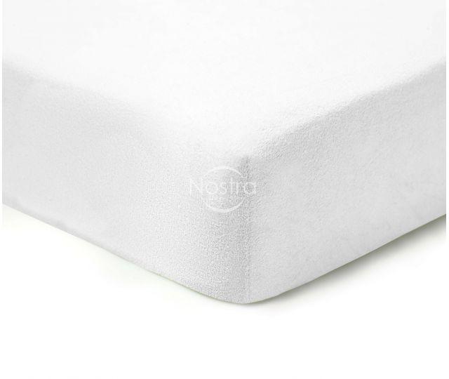 Frotinės paklodės su guma TERRYBTL-OPT.WHITE 180x200 cm