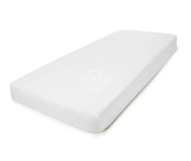 Frotinės paklodės su guma TERRYBTL-OPT.WHITE 90x200 cm