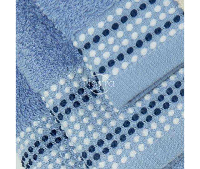 3 dalių rankšluosčių komplektas T0044 T0044-SOFT BLUE 30x50, 50x70, 70x140 cm