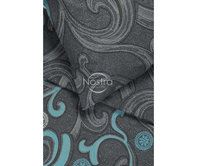 Patalynės komplektas HERMILA 40-0979-GREY BLUE 200x220, 50x70 cm
