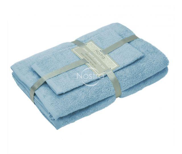 3 dalių rankšluosčių komplektas 380 ZT 380 ZT-PLACID BLUE 30x50, 50x100, 70x140 cm