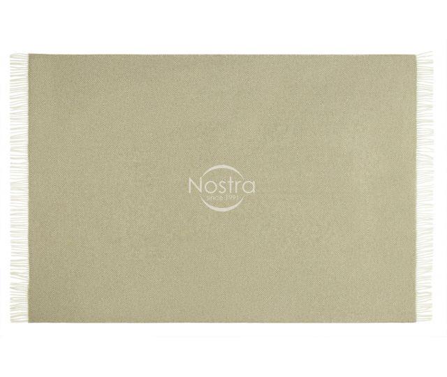 Vilnonis pledas MERINO-300 80-3042-LIGHT BROWN 140x200 cm