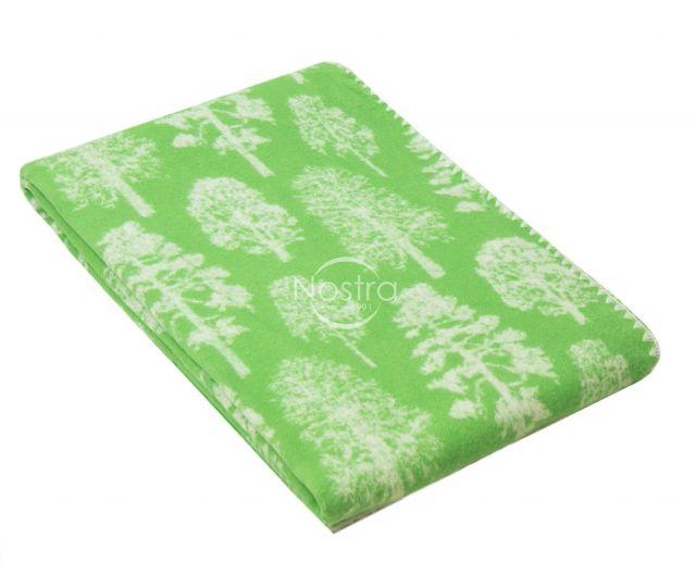 Medvilninis pledas SUMMER 80-2003-GREEN 23 140x205 cm