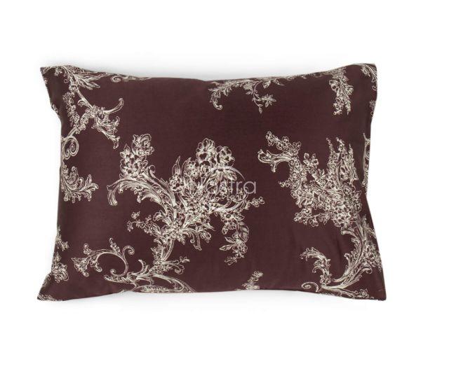 Satino pagalvės užvalkalas 20-1290-BROWN 50x70 cm