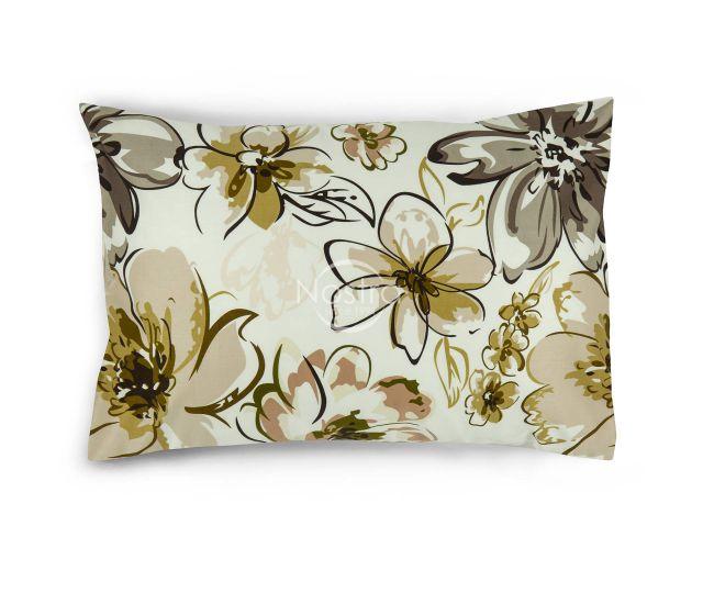 Satino pagalvės užvalkalas 20-1387-BROWN 50x70 cm