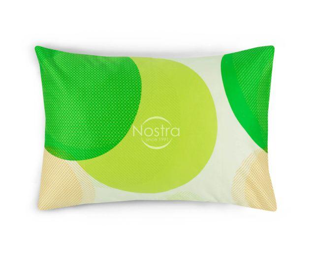 Satino pagalvės užvalkalas 30-0430-GREEN 50x70 cm