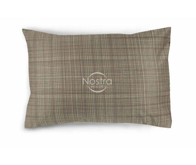 Satino pagalvės užvalkalas 30-0485-CACAO 50x70 cm