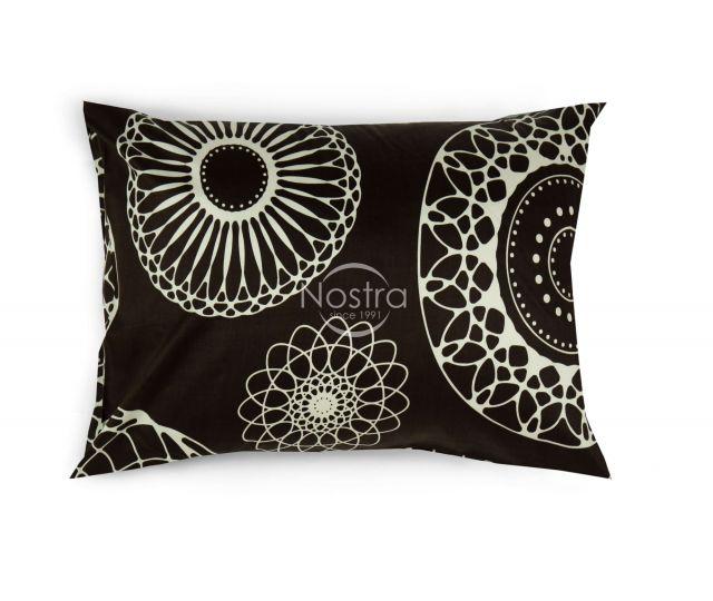 Satino pagalvės užvalkalas 40-0838-BROWN 50x70 cm