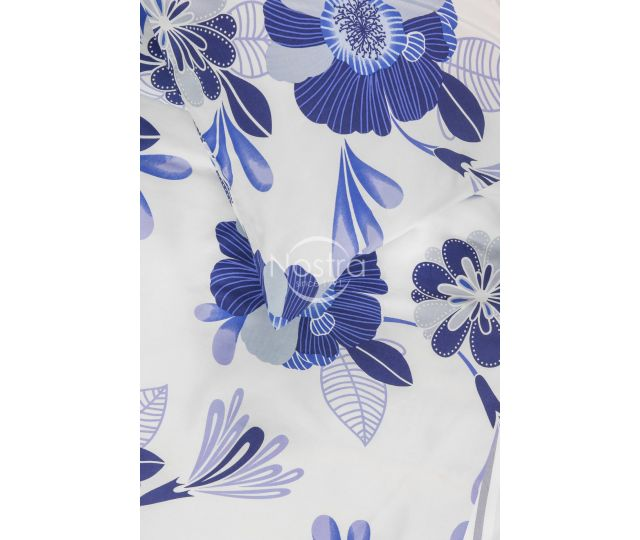 Satino patalynė ABRIENNE 20-1390-FOREV BLUE 145x200, 70x70 cm