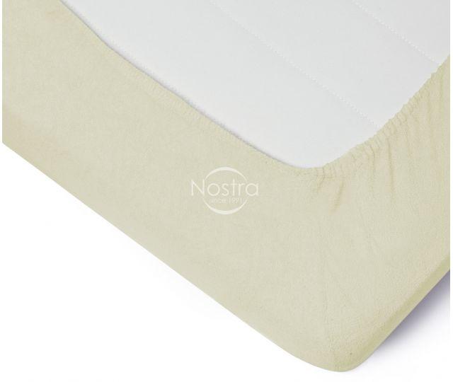 Frotinės paklodės su guma TERRYBTL-PAPYRUS 160x200 cm