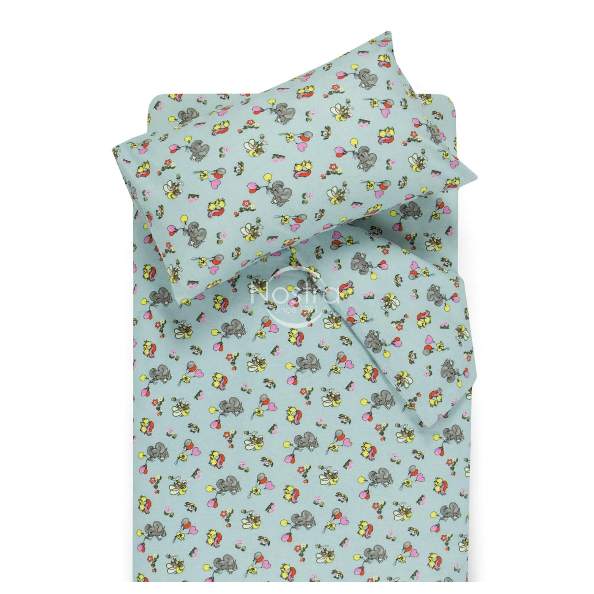 Детское фланелевое постельное белье FLYING ELEPHANTS