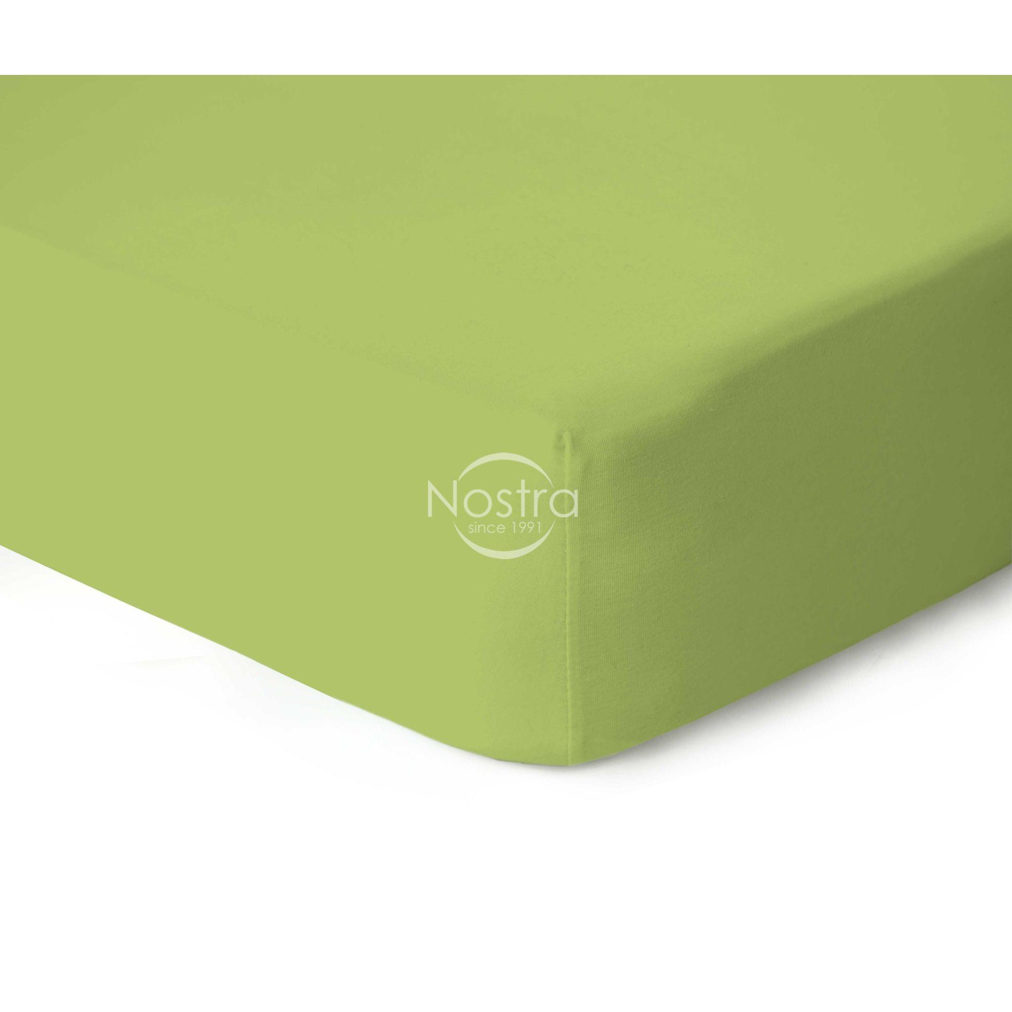 Trikotažinės paklodės su guma JERSEYBTL-LIGHT GREEN