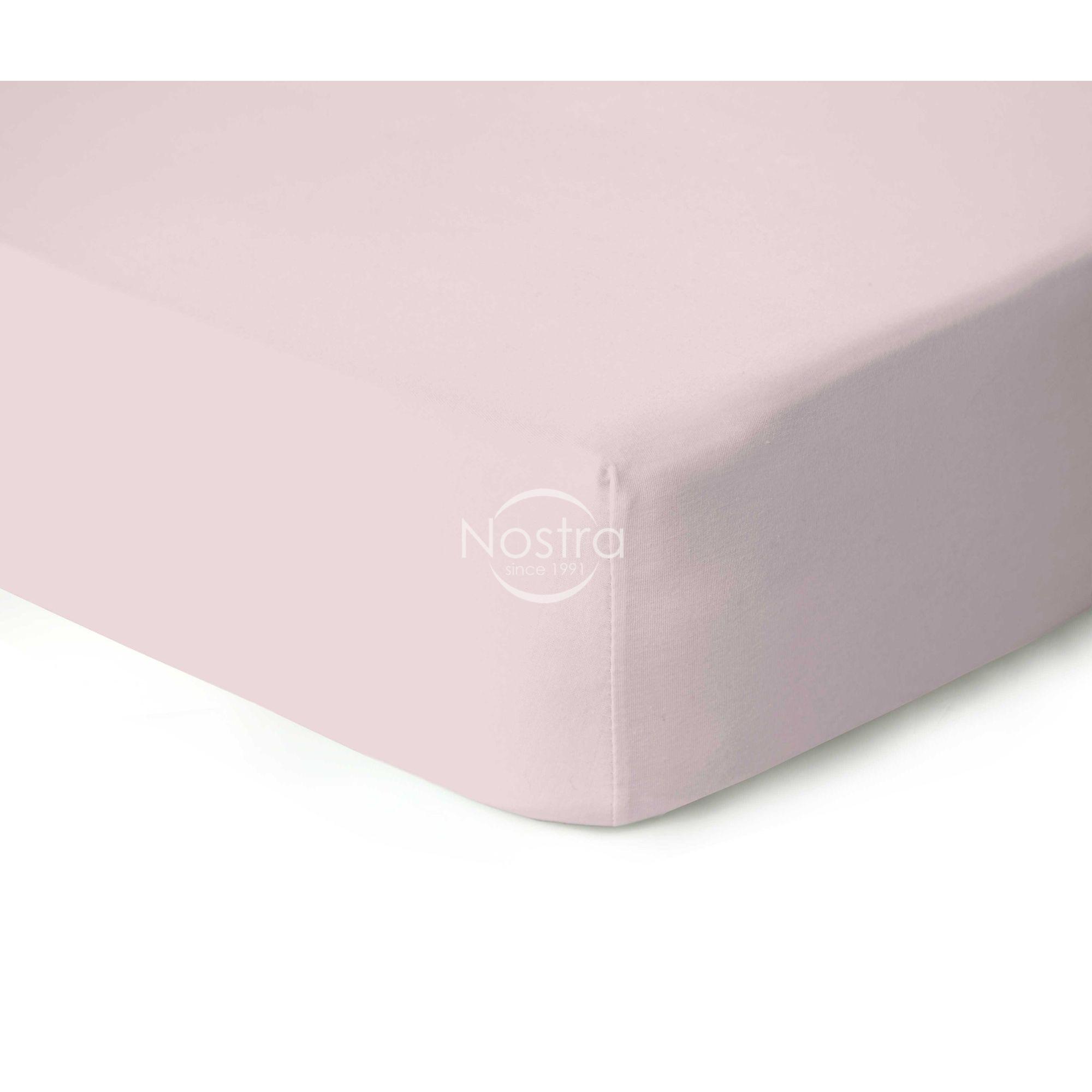 Trikotažinės paklodės su guma JERSEYBTL-PARFAIT PINK
