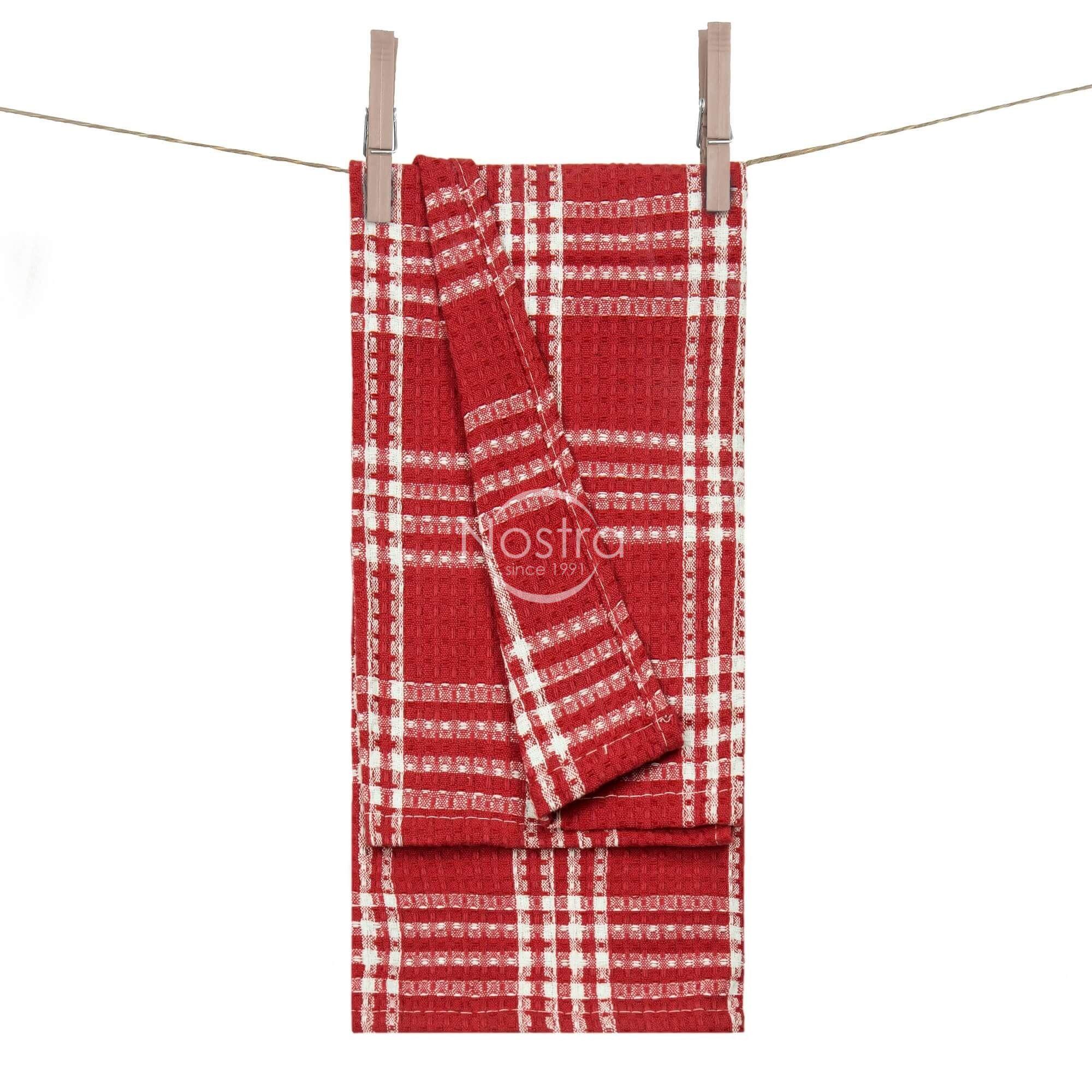 Virtuvinis rankšluostis WAFEL-240 T0101-RED 50x70 cm