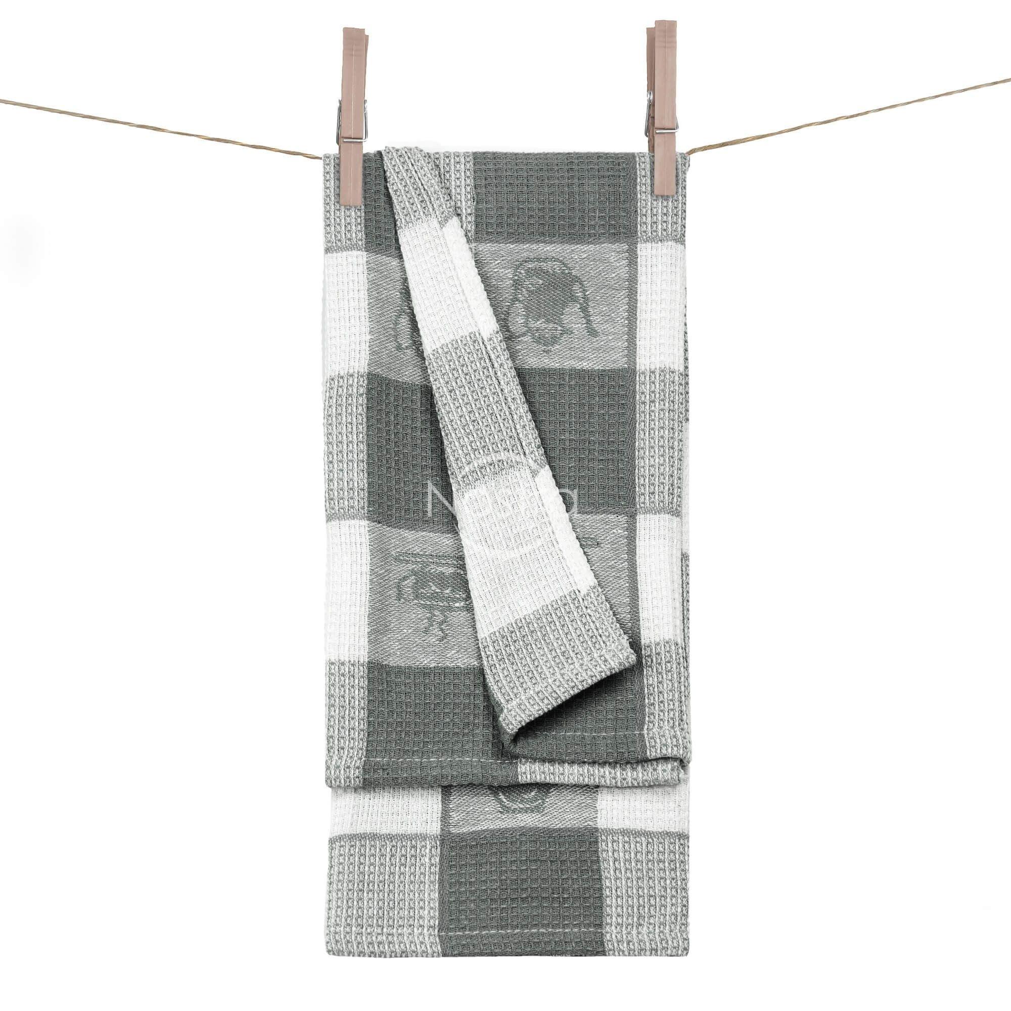 Virtuvinis rankšluostis WAFEL-240 T0103-GREY 50x70 cm