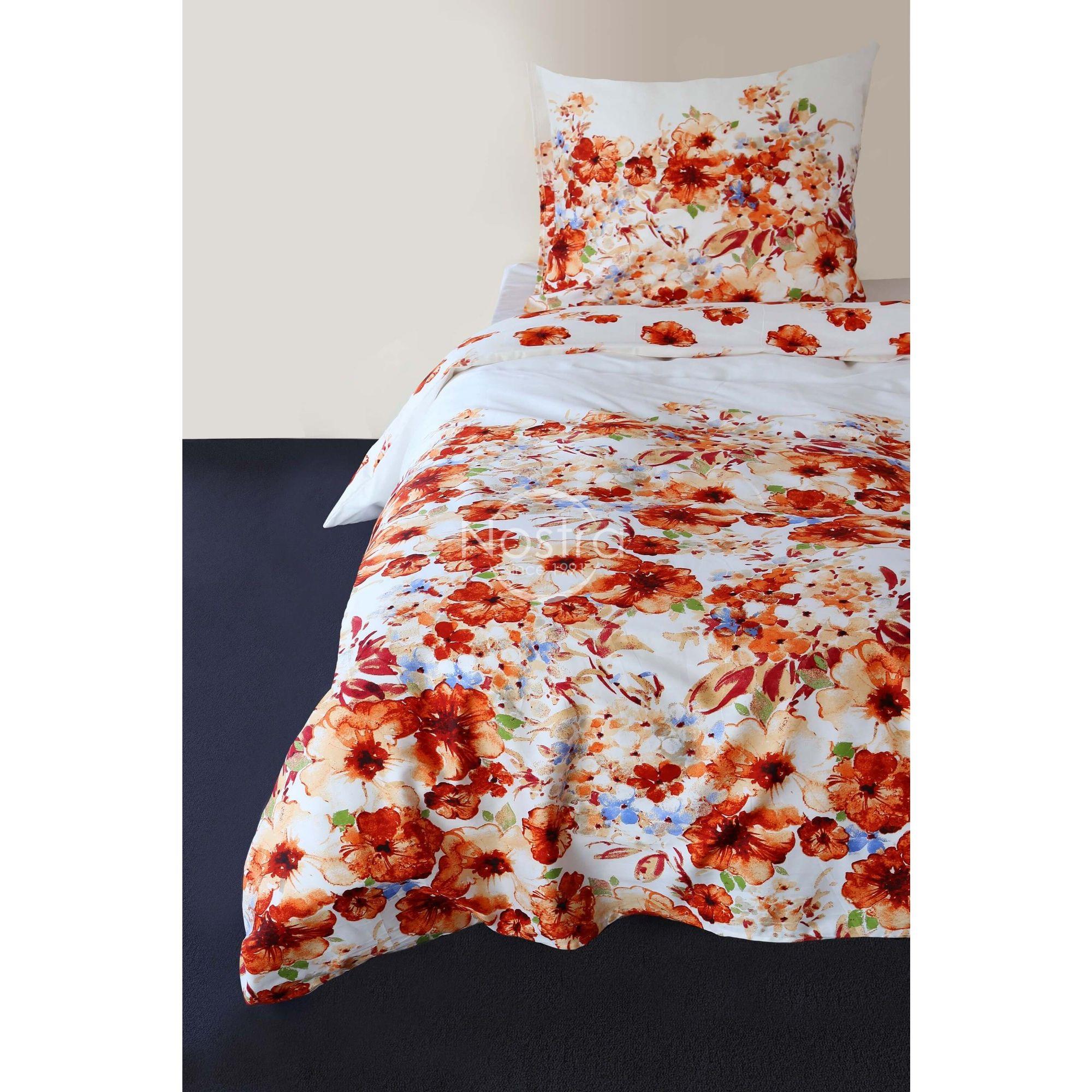 Satino pagalvės užvalkalas 20-1369-ORANGE 70x70 cm