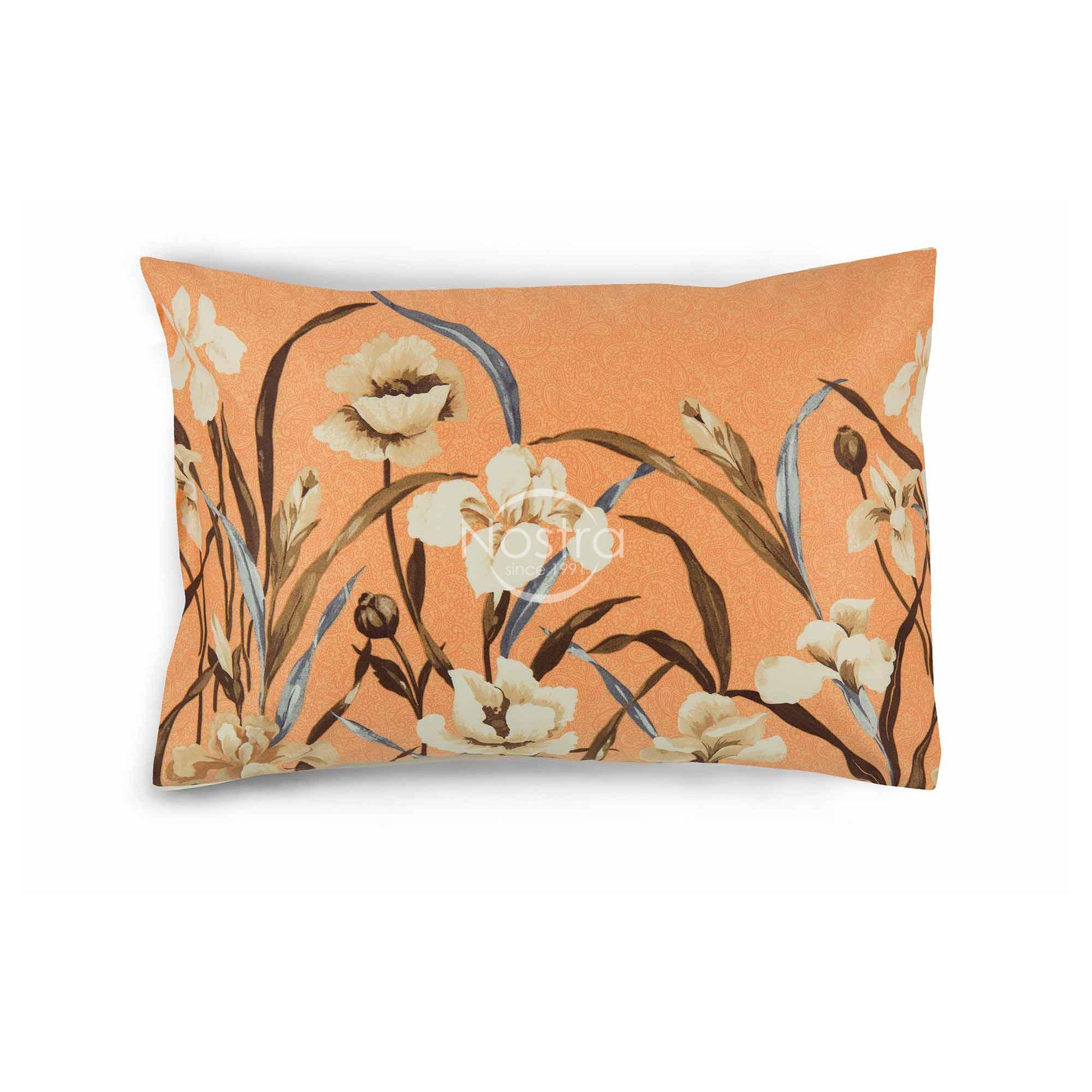 Satino pagalvės užvalkalas 20-1498-PEACH 50x70 cm
