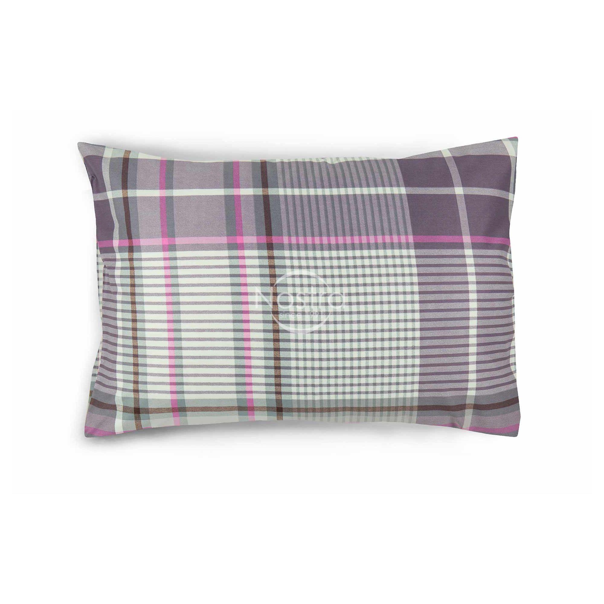 Satino pagalvės užvalkalas 30-0431-PINK 50x70 cm