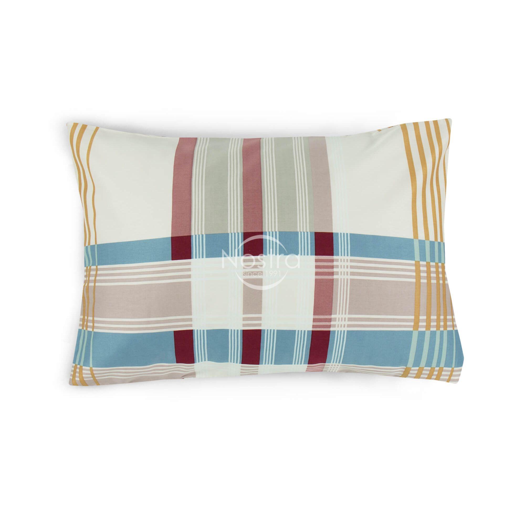 Satino pagalvės užvalkalas 30-0435-BLUE 50x70 cm