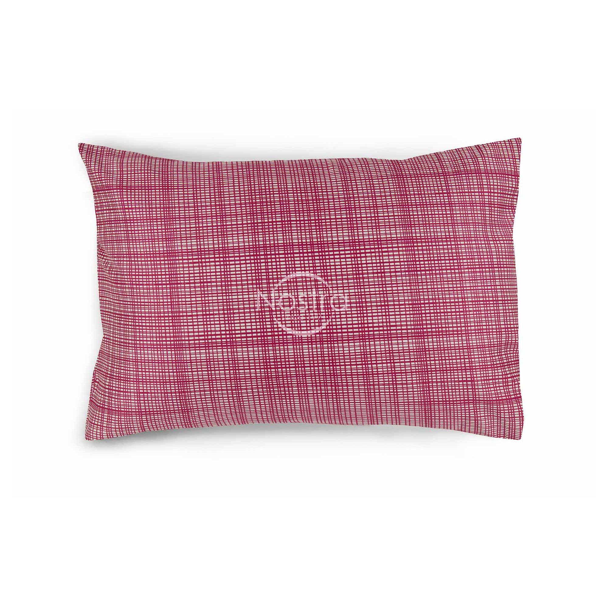 Satino pagalvės užvalkalas 30-0485-FUCHSIA 50x70 cm