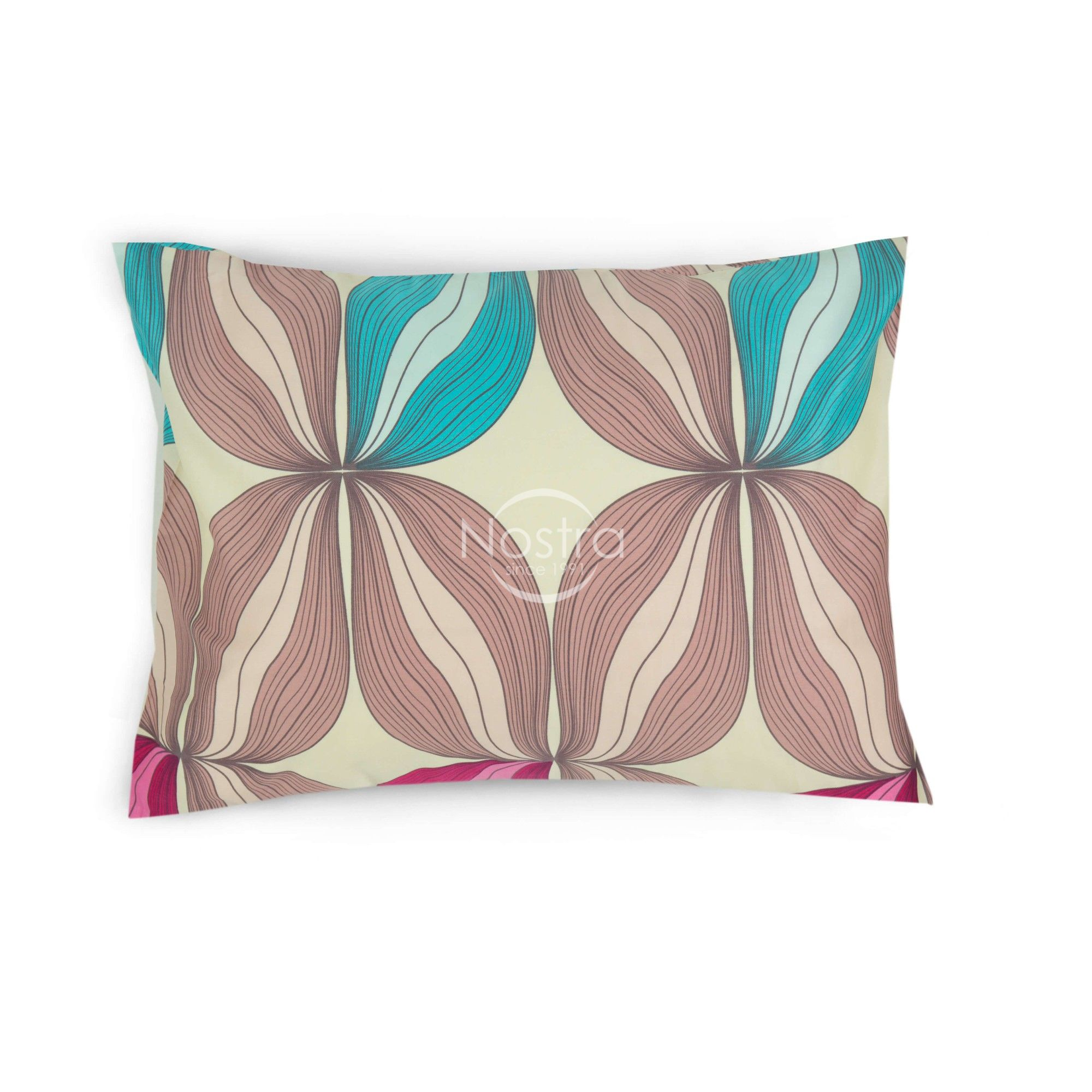 Satino pagalvės užvalkalas 40-0737-BEIGE 50x70 cm