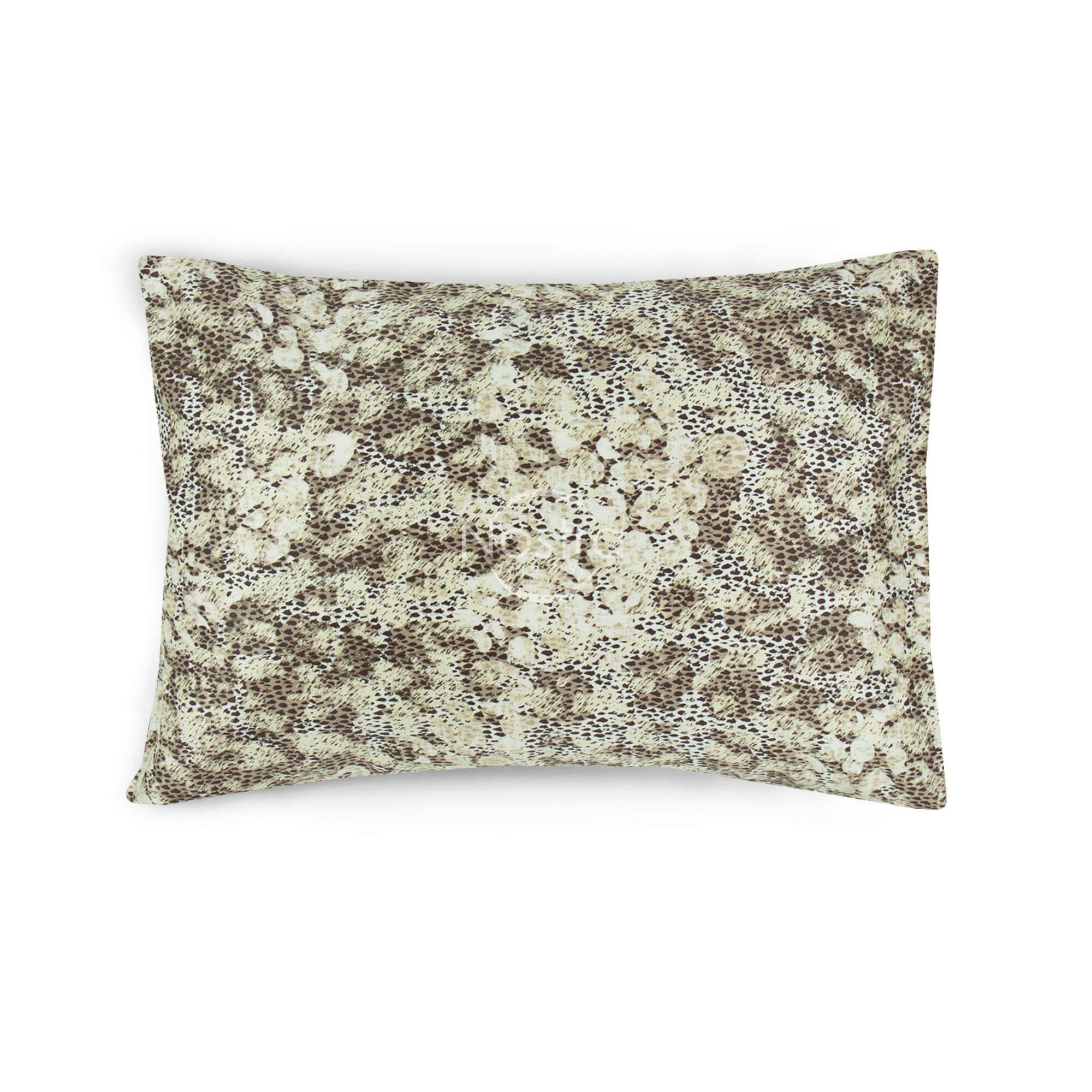Satino pagalvės užvalkalas 40-0886-CACAO 50x70 cm