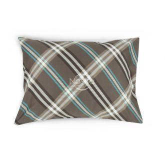 Satino pagalvės užvalkalas 30-0419-BROWN