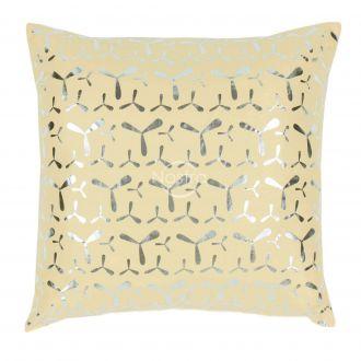 Pillow METALIC 70-0024-GOLDEN FLEECE/SILVER