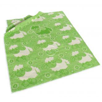 Vaikiškas pledas SPRING 80-1022-GREEN 5
