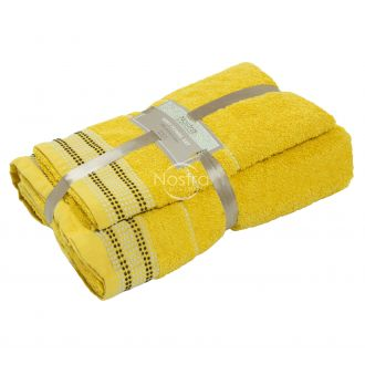 2 dalių rankšluosčių komplektas 550DOBBY T0044-YELLOW