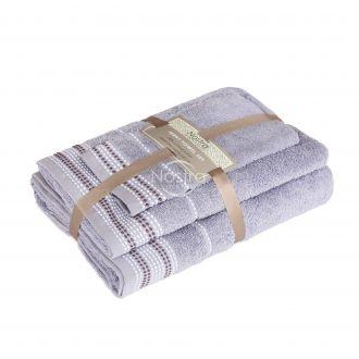 3 dalių rankšluosčių komplektas T0044 T0044-GREY BLUE
