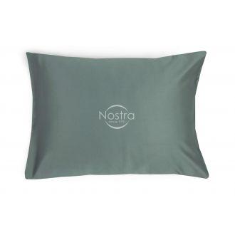 Dažyto satino pagalvės užvalkalas 00-0326-STONE GREY