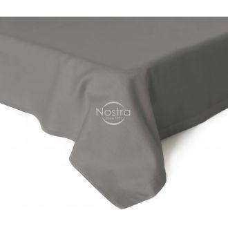 Атласные простыни без резинки 00-0326-STONE GREY