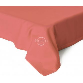 Flat sateen sheets 00-0324-GRAPEFRUIT