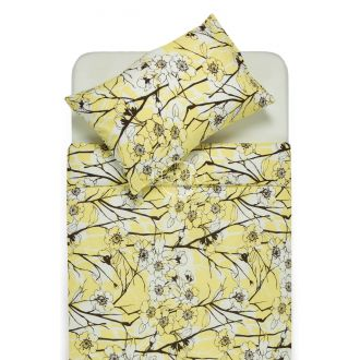 Glamžyta patalynė EMMA 20-0437 yellow