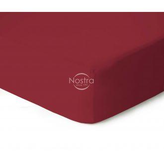 Trikotažinės paklodės su guma JERSEYBTL-WINE RED